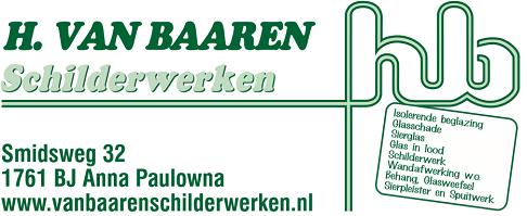 H. van Baaren Schilderwerken