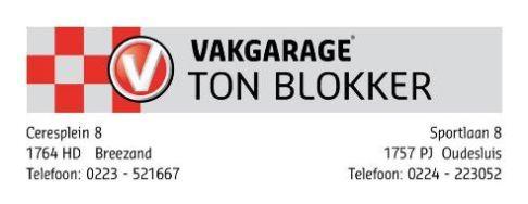 Vakgarage Ton Blokker