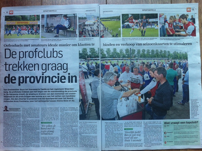 VV Kleine Sluis: landelijk nieuws! Foto 1