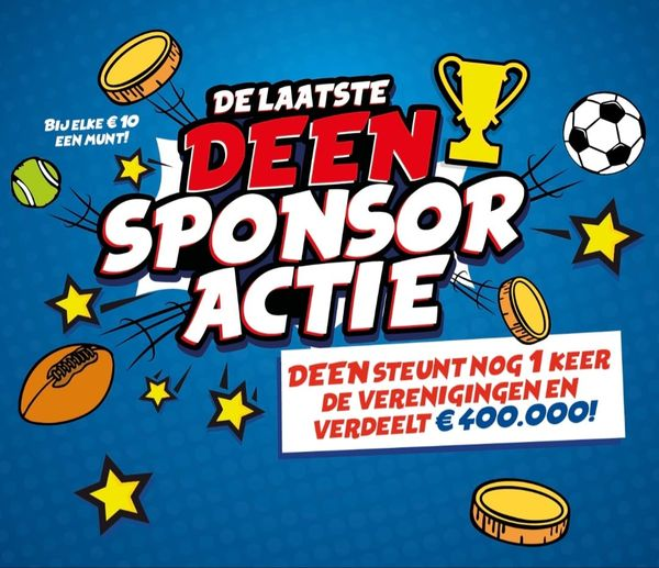 Deen Sponsoractie Foto 1